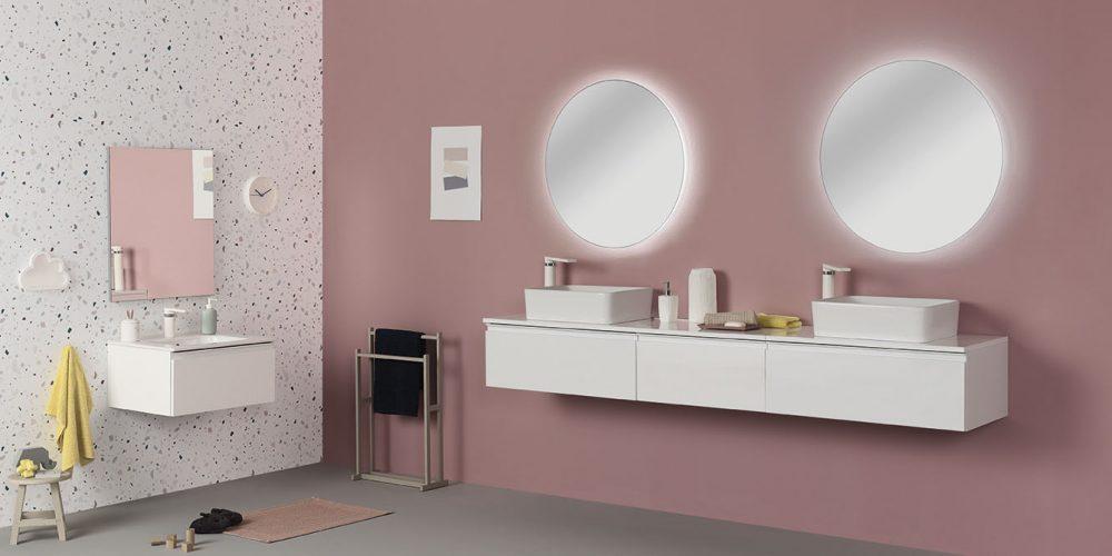 Mueble baño Royo Vida blanco